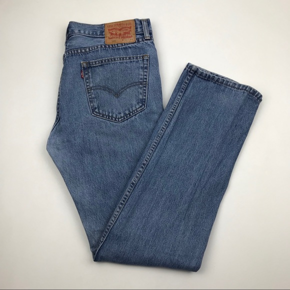 Levi's Denim - Vintage Levi's 505 High Waist Jeans 32 Re/Done